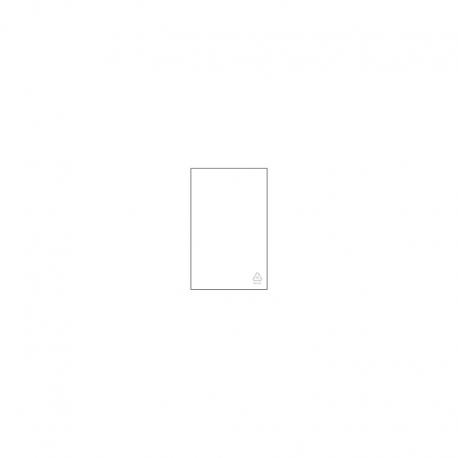 LDPE - Flachbeutel mit Recyclingsymbol, 100 x 200 x 0,025 mm, VE 1.000 Stck.