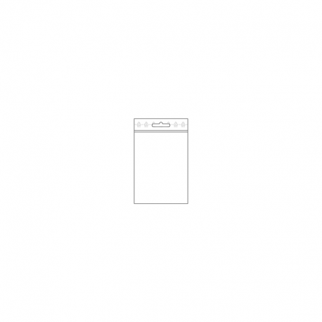 LDPE - SVB, 080 x 120 x 0,05 mm, VE 1.000 Stck., mit Eurolochung