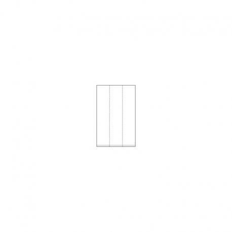 LDPE - Seitenfaltensäcke, 600+400 x 2000 x 0,065 mm, VE 50 Stck.