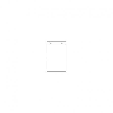 400 x 570+30 x 0,02 mm, VE 1.000 Stck., HDPE - Flachbeutel
