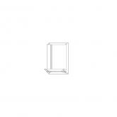 OPP - Blockbodenbeutel, 100 + 060 x 370 x 0,04 mm, VE 1.000 Stck.