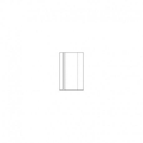 080+040 x 20 x 0,03 mm, VE 1.000 Stck., OPP - Seitenfaltenbeutel