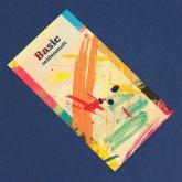 Aufkleber 72 x 105 mm 4-farbig (CMYK) weißes Papier