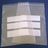 180 x 250 + 240 x 0,05 mm, VE 1.000 Stck., LDPE - Dentalbeutel mit Schreibfeldern