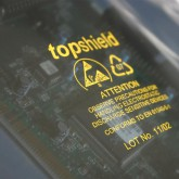 76 x 127 x 0,075 mm, VE 1.000 Stck., topshield / metallisierte Abschirmbeutel