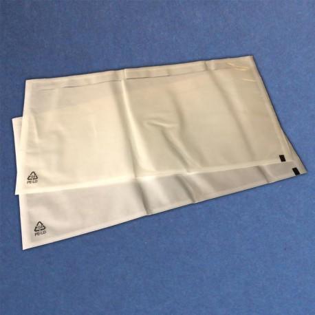 Format: DIN LANG / 240 x 120 mm, VE 1.000 Stück, Lieferscheintaschen neutral