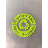 250 x 400 x 0,05 mm, VE 1.000 Stck., LDPE - Flachbeutel, mit Recyclingsymbol